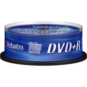 Verbatim Dvd+R Vierge Spindle de 25