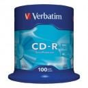 Verbatim Cd Vierge Par 100 Spindle