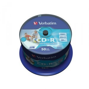 Verbatim Cd Vierge Par 50 Spindle