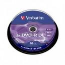 Verbatim Dvd+R Vierge Double Couche Spindle de 10