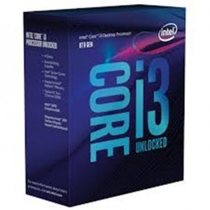 Processeur Intel Core i3-8350K Coffee Lake Socket 1151 V2 4.00GHz