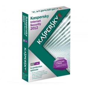 Logiciel Kaspersky Internet Security 2012 Boite (3 postes - 2 an)