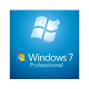 Logiciel Microsoft Windows Seven Pro 64Bit